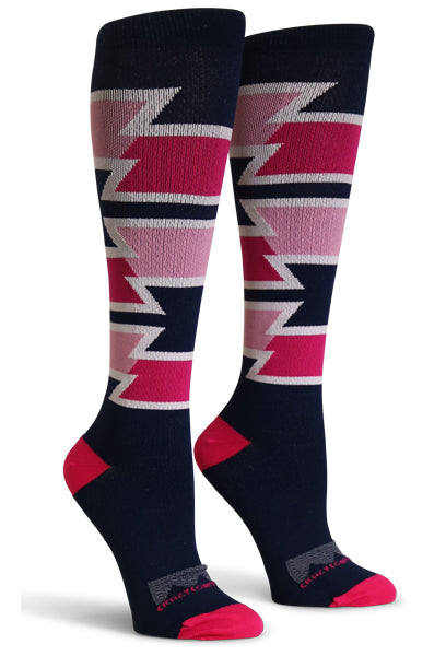 Go Go Pink & Navy - CrazyCompression.com