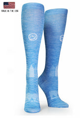 Blue Twist OTC Compression Socks