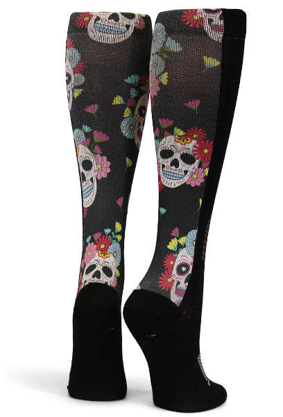 Black Day of the Dead Skulls - CrazyCompression.com