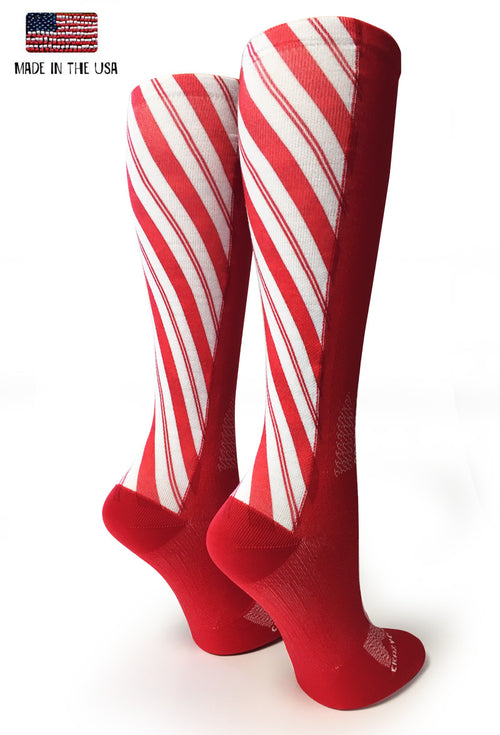 Red Candy Cane - CrazyCompression.com
