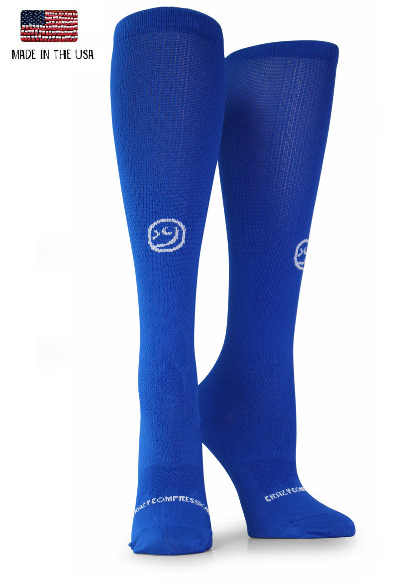 Royal OTC Solid Compression Socks - CrazyCompression.com