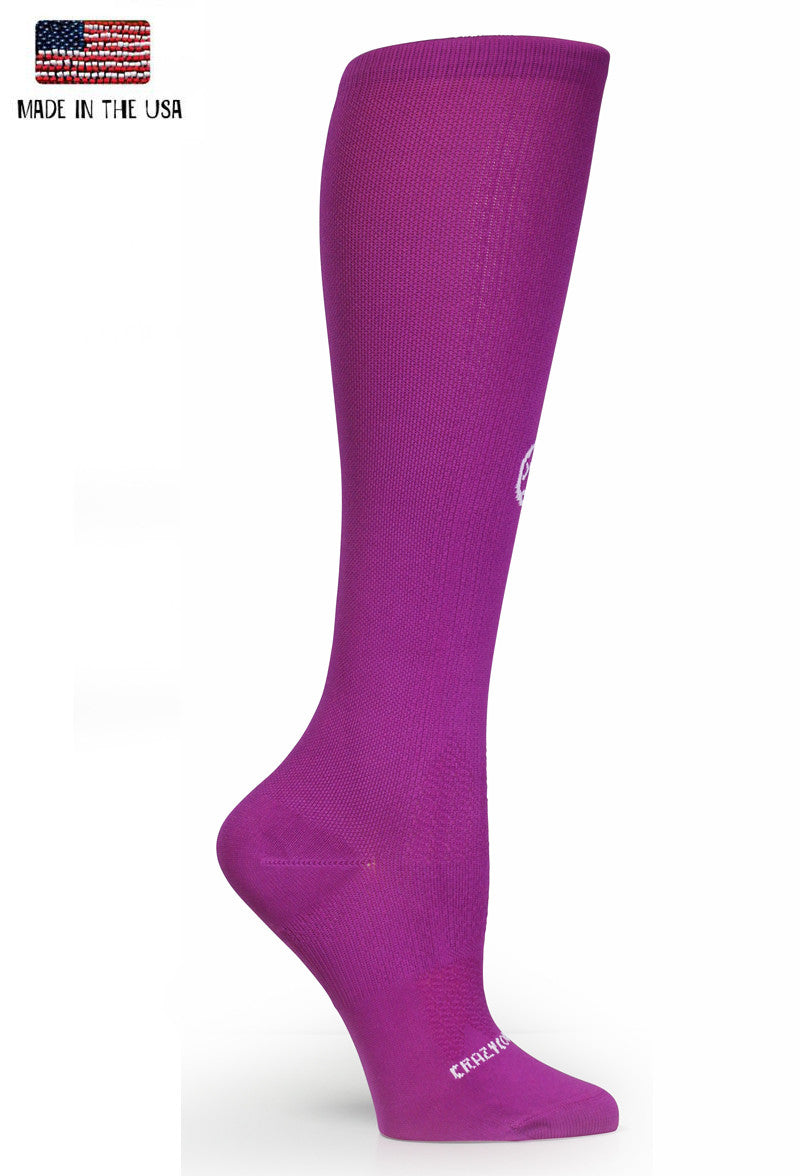 Berry OTC Solid - Compression Socks - CrazyCompression.com