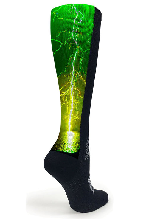 Black OTC Green Lightning - CrazyCompression.com
