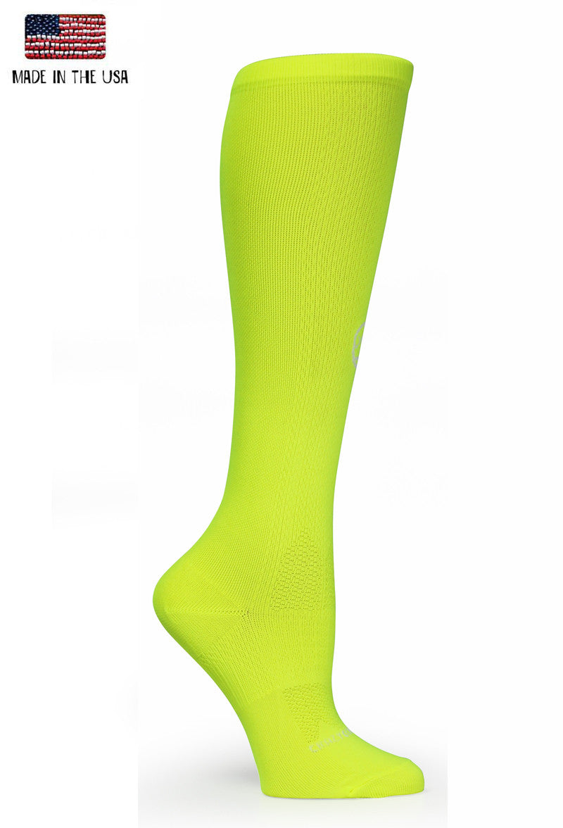 High Viz Yellow OTC Solid - CrazyCompression.com