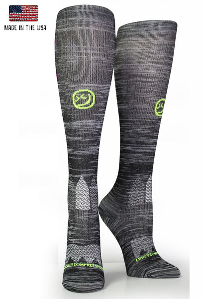 Black Twist OTC Compression Socks