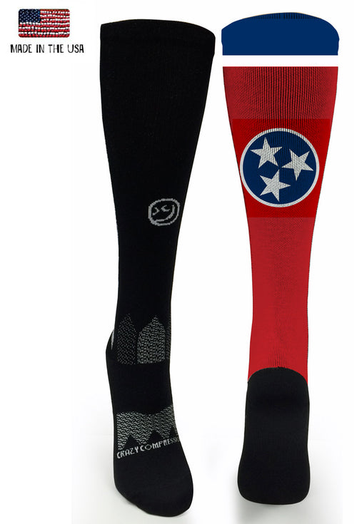 Black OTC Tennessee - CrazyCompression.com