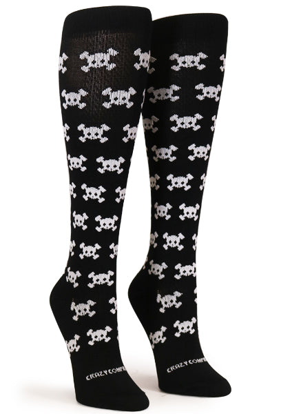 Black Cutie Skulls - CrazyCompression.com