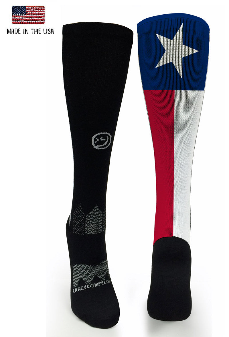 Black OTC Texas - CrazyCompression.com