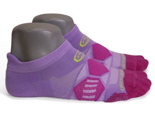 Violet & Plum Runners - Elite Running Socks - CrazyCompression.com