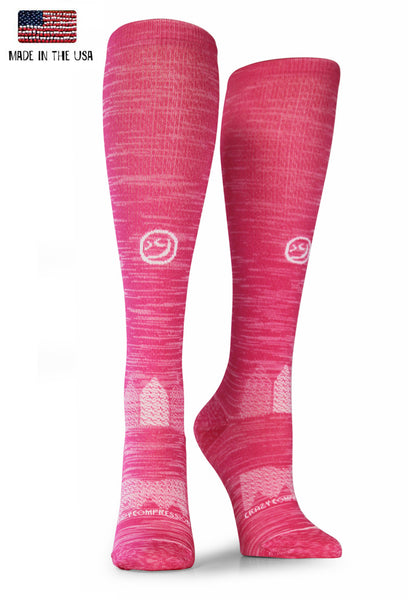 Pink Twist OTC Compression Socks