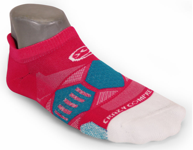 Pretty Pink & Teal Elite Runners - CrazyCompression.com