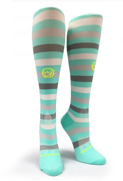 "All About Stripes ""Mint"" - CrazyCompression.com"