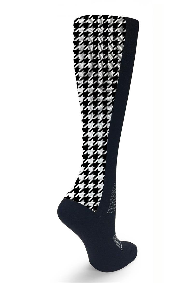 Black OTC Houndstooth - CrazyCompression.com