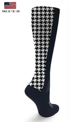 Black OTC Houndstooth