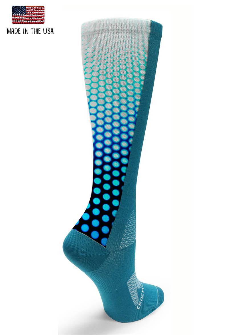 Teal OTC Future Dots - CrazyCompression.com