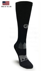 Black OTC Captain America Compression Socks