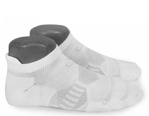 Clean White Elite Runners - CrazyCompression.com