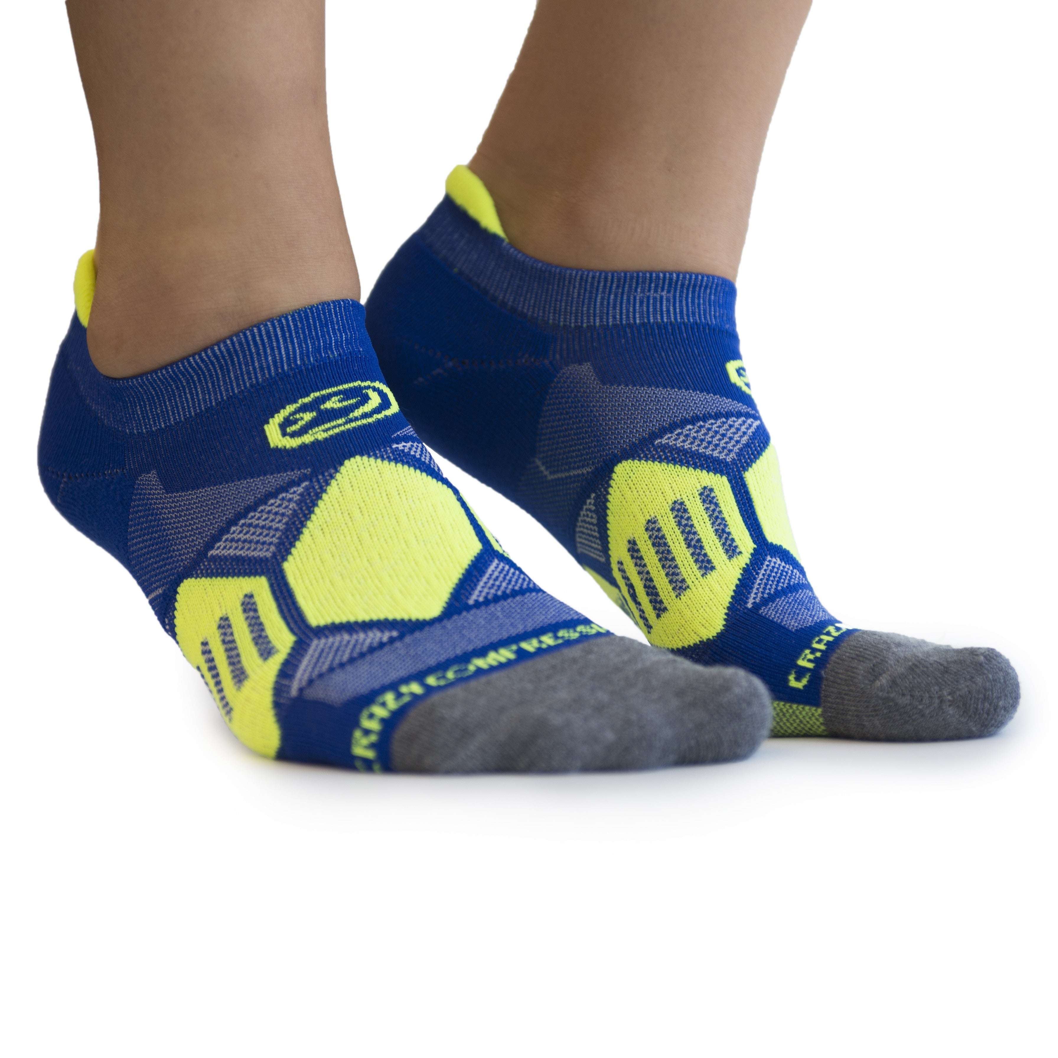 Blue Elite Runners - CrazyCompression.com