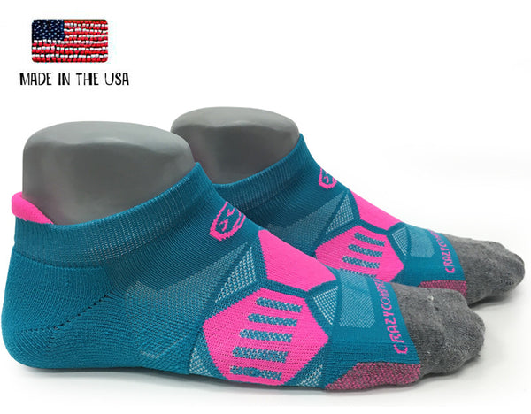 Hyper Teal & Pink Elite Runners