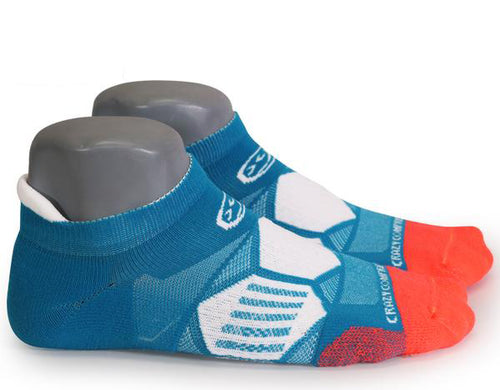 Miami Vice - Elite Compression Running Socks - CrazyCompression.com