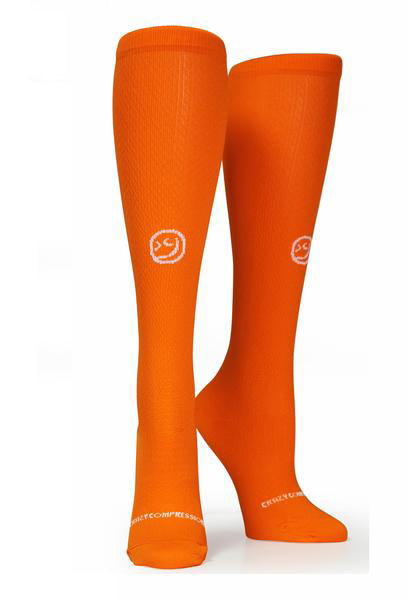 Racer Orange OTC Solid - CrazyCompression.com