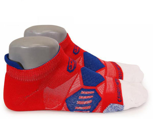 Red, White, Blue Elite Runners - CrazyCompression.com