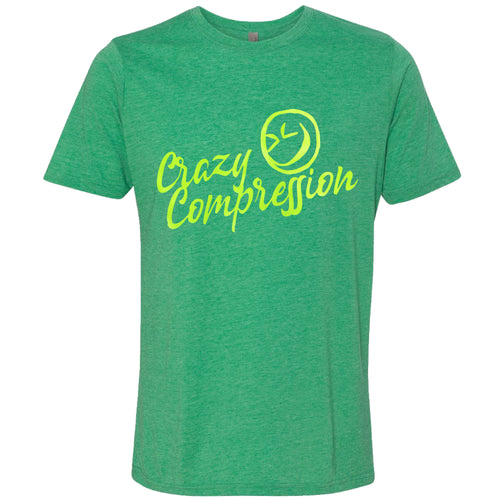 Envy Green Short Sleeve T-Shirt Poly/Cotton Crew