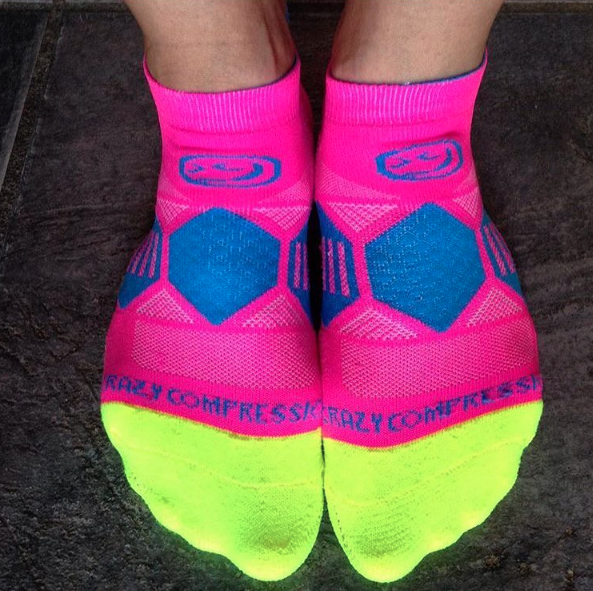 Cotton Candy Runners - Elite Compression Running Socks