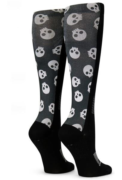 Black Tiny Skulls - CrazyCompression.com