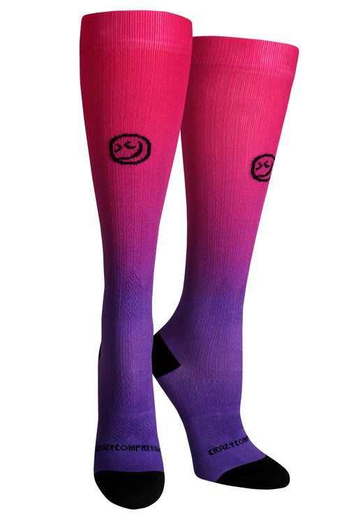 360 Ombré Pink Purple (NEW) - CrazyCompression.com