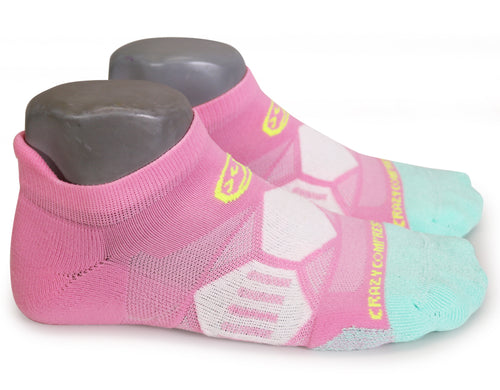 Candy Heart Runners - Elite Running Socks - CrazyCompression.com