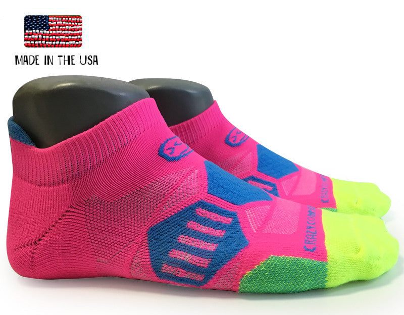 Cotton Candy Elite Compression Running Socks