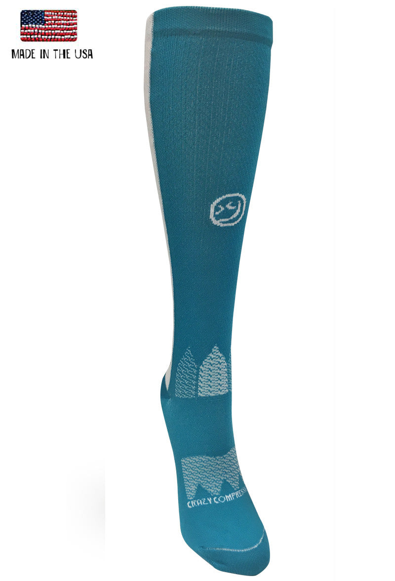 Teal OTC Mermaid - CrazyCompression.com