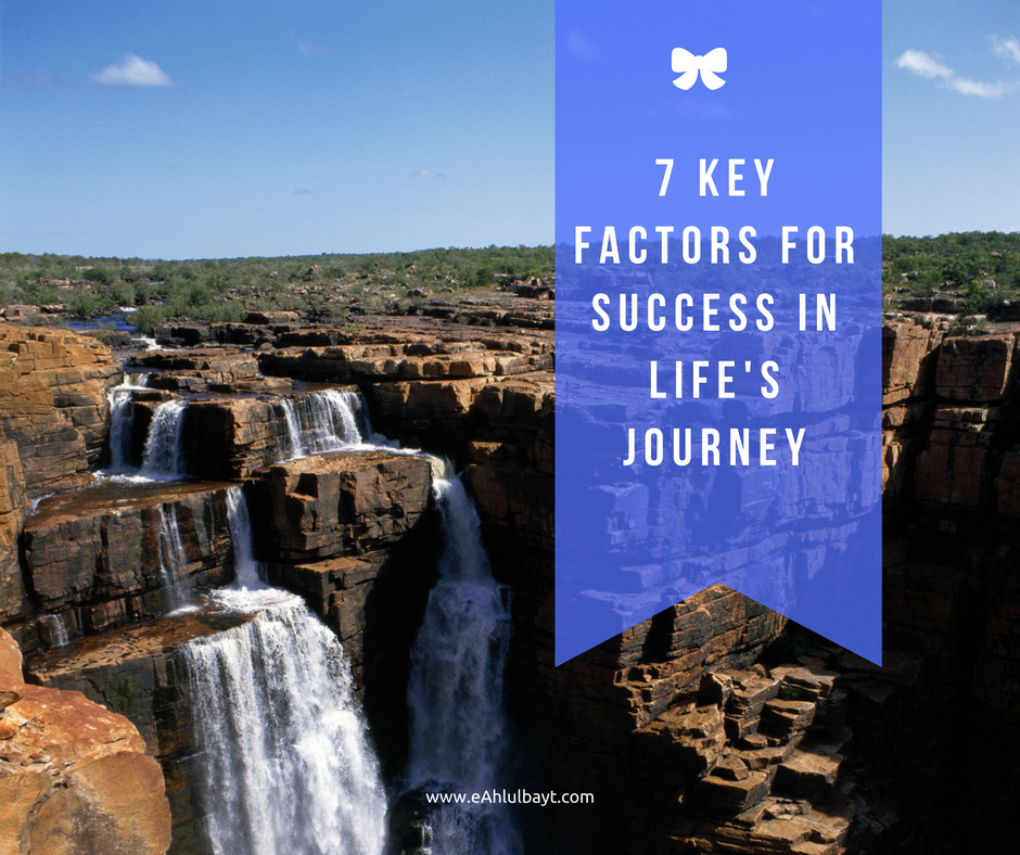 7 KEY FACTORS FOR SUCCESS IN LIFE'S JOURNEY (3 min)