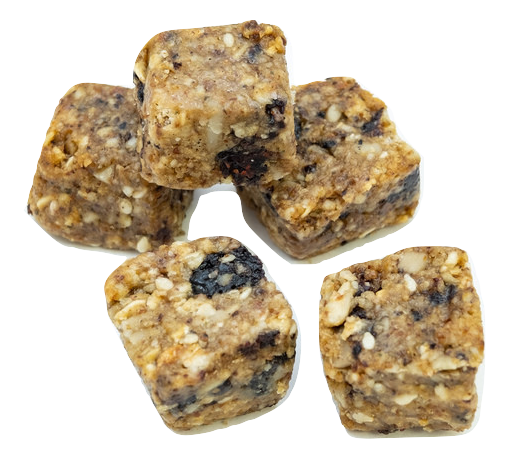 Organic Blueberry Hemp Almond Butter Bites
