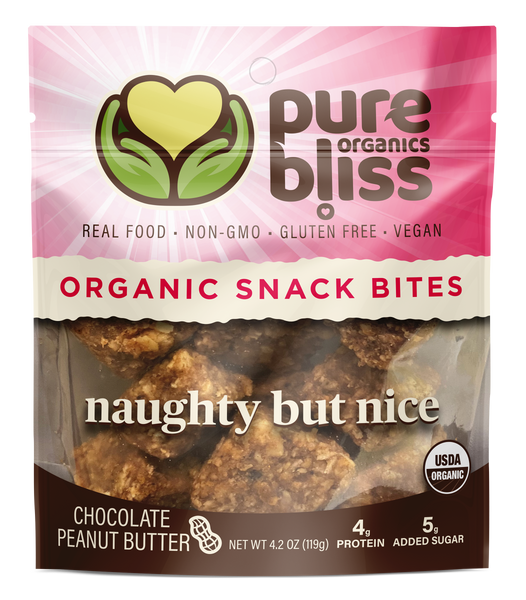 Organic Naughty But Nice Snack Bites