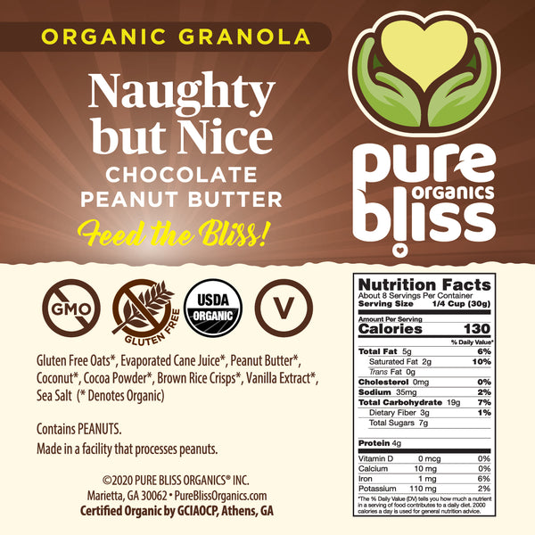 Organic Naughty But Nice Granola