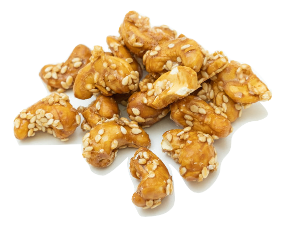 Organic Sesame Honey Cashews