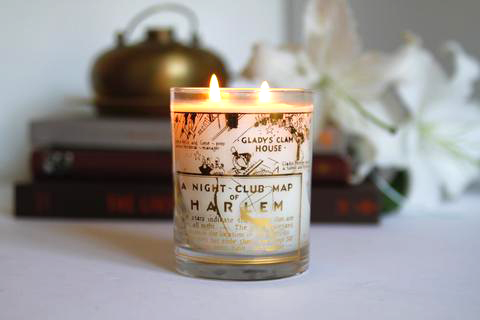 Close-up of Harlem Candle