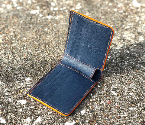 Blue Warthog Leather wallet