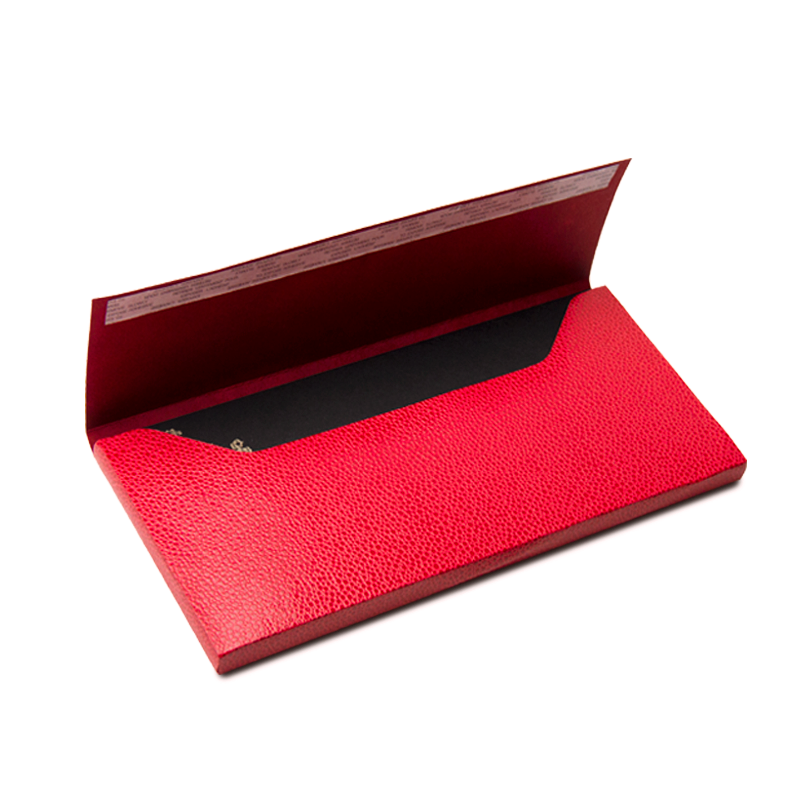 Hand made, red, luxury case with logo embossing for BOTA BOTA