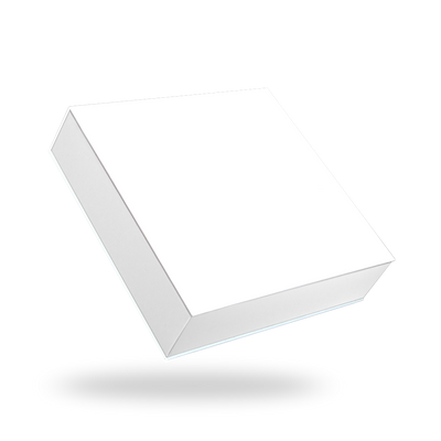 White Square Magnetic Box
