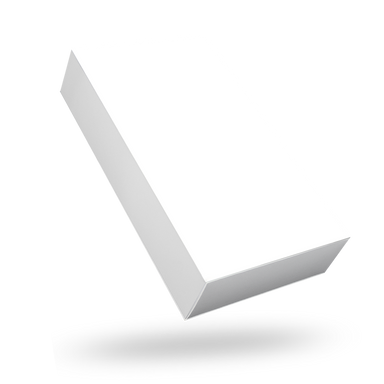 Rectangular white magnetic closure box