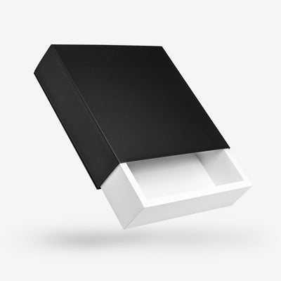 White-Black-Rigid-Box-Slide-Sleeve