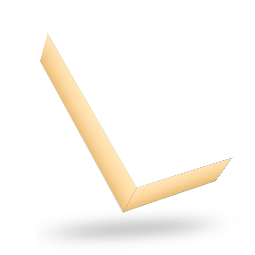 RECTANGULAR GOLD TRAY MAGNETIC CLOSURE WITH WHITE LID
