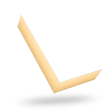 Rectangular gold tray - white lid magnetic closure box
