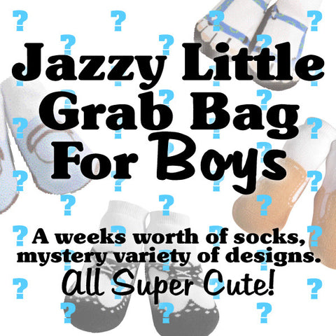 Jazzy Little Bag of Socks for Boys!