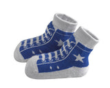 Bamboo High Top Sneakers: Red or Blue