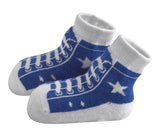 Bamboo High Top Sneakers: Blue or Red