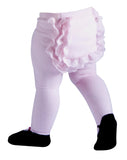 Mary Jane Lacy Baby Tights in Pink